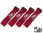 Battery Strap RJX (400x20mm 4 pcs) Red