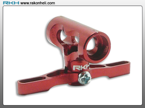 Blade 130X - CNC AL Center Hub Set (Red)