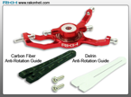 Blade Nano CP - CNC AL Advanced Swashplate Set (Red)