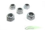 Goblin 700 - Metric hex locknut Nuts M5 H4,8 (5pcs)