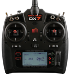 Spektrum DX7 DSMX Only Transmitter - Mode 1-4