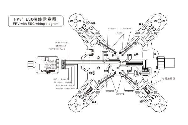 quadrocopter tarot mini 200 fpv kit models drony ramy multicopters frames ramy rc