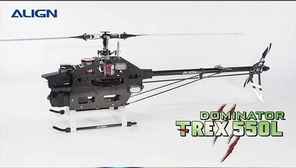 Rc Helicopter Align T Rex 550l Dominator Super Combo Models Helicopters Align 550 Rc