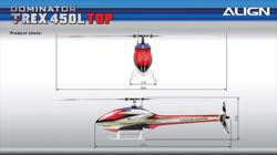 RC Helicopter Align T-REX 450L Dominator TOP Super Combo (6S) Microbeast Plus
