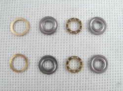 Thrust Bearings 5x12x4 + Washers
