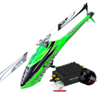 SAB Goblin 700 SPEED Flybarless + BLACK Edition Kontronik (Cool Kosmik 200 + Pyro Competition 850-50L)