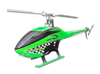 SAB Goblin 770 Competition Flybarless Zielony RAC.
