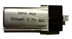 Battery GENS ACE 1S 3.7V 300mAh 30C (MCPX)
