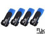 Battery Strap RJX (200x20mm 4 pcs) Blue