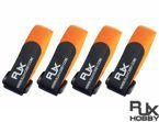 Battery Strap RJX (200x20mm 4 pcs) Orange