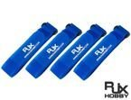 Battery Strap RJX (400x20mm 4 pcs) Blue