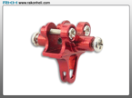 Blade 130X - CNC AL Tail Boom Clamp (Red)