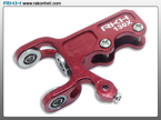 Blade 130X - CNC AL Tail Gear Case Set (Red)
