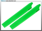 Blade 130X - Plastic Main Blade 135mm-Green