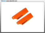 Blade 130X - Plastic Tail Blade 29mm-Orange