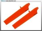 Blade Nano CP - Bullet Plastic Main Blade 89mm-Orange