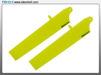 Blade Nano CP - Bullet Plastic Main Blade 89mm-Yellow