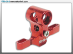Blade Nano CP - CNC AL Main Center Hub Set (Red)