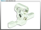 Blade Nano CP - CNC AL Main Center Hub Set (Silver)