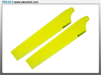 Blade Nano CP - Plastic Main Blade 89mm-Yellow