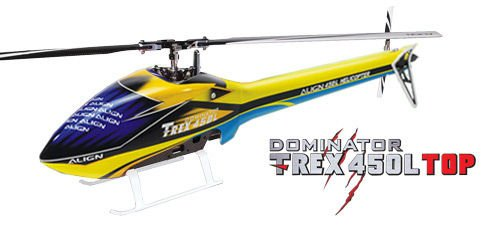 RC Helicopter Align T-REX 450L Dominator TOP Super Combo (6S