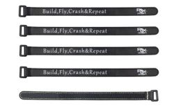 Battery Strap RJX (250x16mm 5 pcs) Czarne
