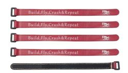 Battery Strap RJX (250x16mm 5 pcs) Red