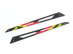 Blade 130X - Carbon Tail Boom Support (Red)