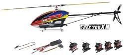 RC Helicopter Align T-REX 700XN Nitro Dominator Combo
